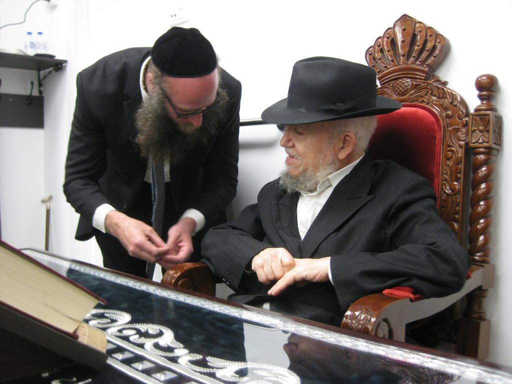 Meeting Rabbi Meir Mazuz Shlita